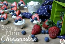 July 4th Desserts / Dessert options for your 4th of July party. / by Walmart