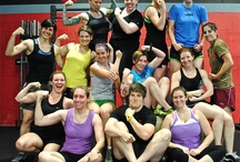 Fearless Women / Women of all shapes, sizes, ages and abilities participate in #Crossfit at Fearless Athletics. We have an occasional all-female practices for our Fearless Women enjoy each others company while working hard and learning tips and tricks.
