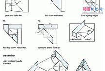 Origami, papír a spol