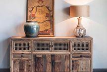 Aparadores / Aparadores de madera para el hogar