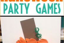 Halloween games and crafts