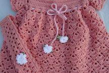 Ropa de bebe Y Niñ@s a crochet / by Eva Asin