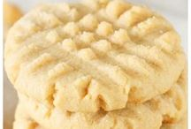 Fıstık ezmeli kurabiyeler