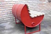 móveis e objetos artísticos