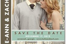 Wedding | Save the Date & Invitation Ideas