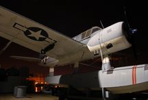 Kingfisher / One of six left in the world, this Vought OS2U Kingfisher sits aboard the Battleship NORTH CAROLINA.