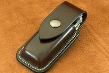 knife leather sheath