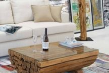 MESAS DE CENTRO / Ideas para decorar tu hogar con originales mesas de centro