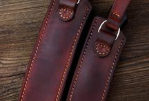Knife sheaths and leather / Leather works