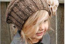Knitting children's hats