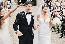 Classic Weddings / From peonies and pearls to Cathedral veils and the confetti toss, this classic and elegant wedding inspiration will stand the test of time!