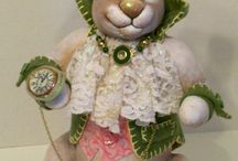 EASTER RABBIT HIMSELF / GET READY FOR EASTER NOW, A WONDERFUL CLASS THAT IS SURE TO PLEASE EVERYONE WHO LOVES EASTER..............