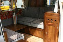 Camper van interiors