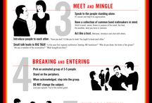 How To Work a Room® INFOGRAPHIC / My classic bestseller turns people into mingling mavens®