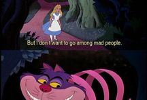 Alice in wonderland themes