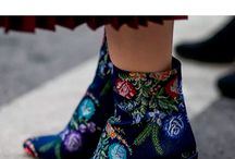 Maximalist Fashion / From jewel encrusted booties and brightly colored furs to romantic ruffles and brocade bags: Get in on fashion's major moment of maximalism with these overly embellished ensembles.
