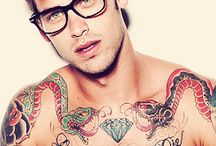 Tattoos and Hot Men!! / by Tiffany Loomis