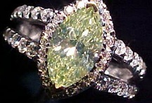 Diamond, Green / Green Diamond Rings & Jewelry