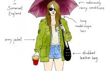 Festival Style / Inspiration for summer music festival outfits and style!