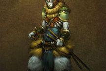 fantasy- animal warrior