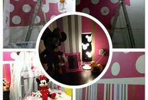 Habitación Minnie Mouse MIA THAEL