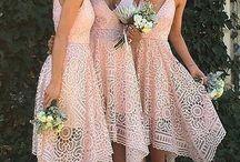Wedding/bridesmaid dresses