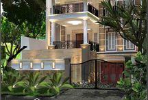 Jasa Arsitek Rumah Di Jakarta Desain Rumah Bapak Mulyanto / Desain Rumah
