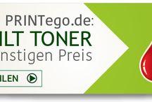 Rebuilt Toner / Günstige Rebuilt Toner bei PRINTego.de Große Auswahl für alle bekannten Marken.