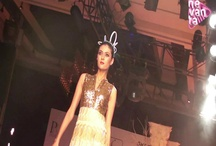 Vikram Phadnis's collection - Nazakat / This feminine collection with hints of gold and beige brought royalty and elegance onto the ramp.
