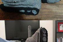Manly Crochet....grrrrr