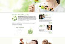 Website Design / Custom website designs.