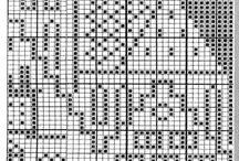 Схемы вязания рисунков