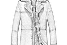 Men's Sheepskin Shearling Coats