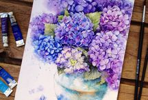 Flowers water color