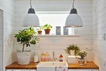 Cocinas y cuartos de lavar