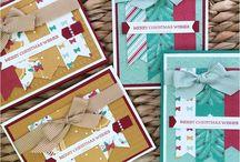 SU Christmas Cards
