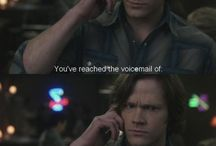 """""""I found a liquor store. And I pinned it."""" / Time for a Supernatural board!"""