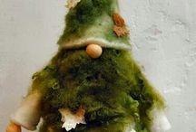 tonttuja, gnomes