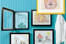 Kids Artwork Display / by Krisha Hinkle