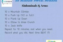10 Minute Sweat Session