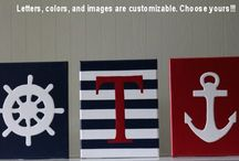Nautical nursery / by Amanda Causer