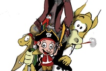 Paddy the tiny pirate