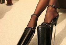funny high heels