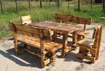 Уличные столы лавки