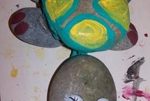 stenen schilderen