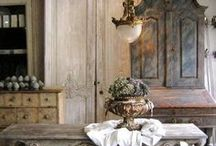 Rustic Country House Decor Ideas / New home idea