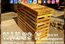 Custom Built Pallet Bars, Bar Furniture & Accessories / Custom Build Pallet Wood Bar Counters & Furniture & Accessories. Everything built to each client's specific needs & requirements. Suitable for indoor & outdoor use. Contact 0834376919 or naileditpallets@gmail.com for all your inquiries or quotes #palletgardenfurniture #barfurniture #barpalletfurniture #naileditpalletfurniture #customfurniture #palletfurnituredurban #custompalletfurniture #palletwoodfence #mancavefurniture #palletbarfurniture #palletfurniture