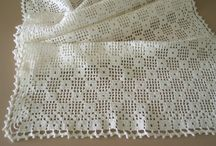 filet crochet/filet hekling