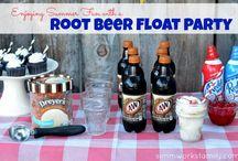 Root bear float party ideas