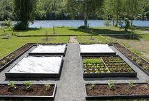 nyttoträdgård utformning